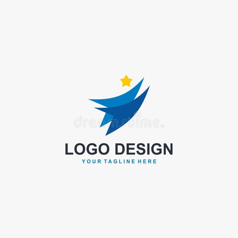 Vecteur de conception de logo de groupe social d'humanité illustration stock