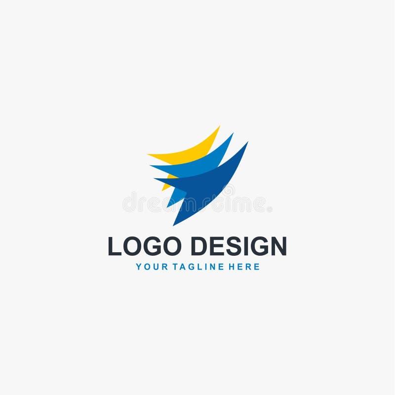 Vecteur de conception de logo de groupe social d'humanité illustration libre de droits