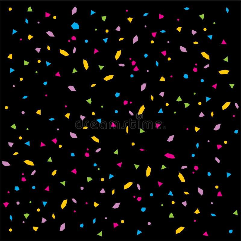 vecteur de confettis illustration de vecteur