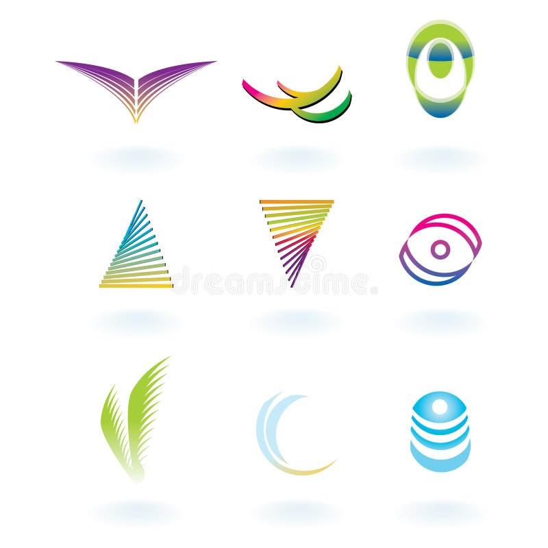 vecteur de corporation de logos illustration de vecteur