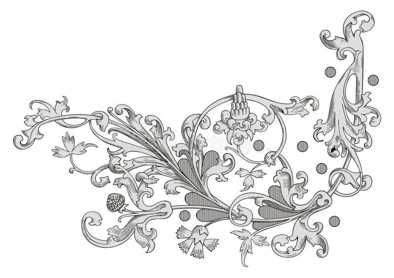 Vecteur de décoration illustration libre de droits