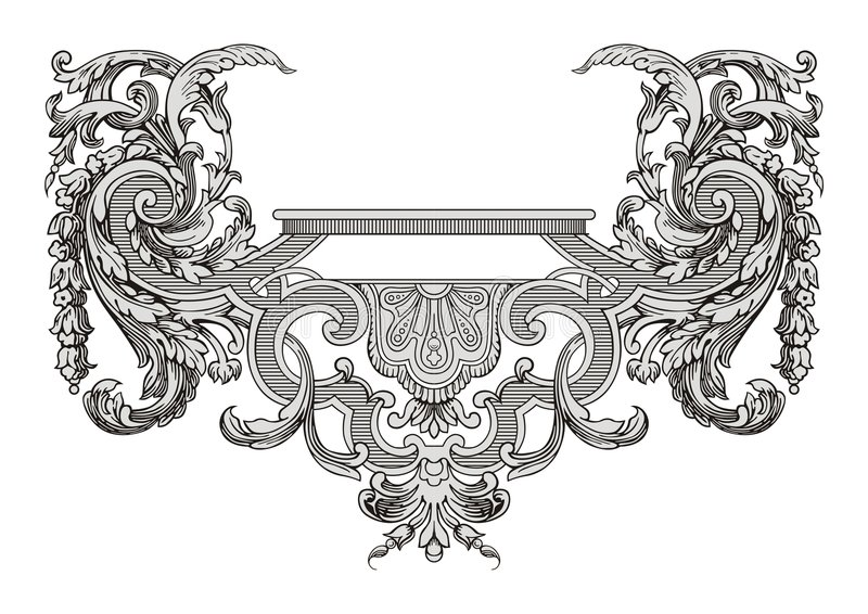 Vecteur de décoration illustration stock