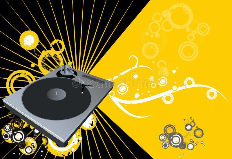 vecteur de disco illustration libre de droits