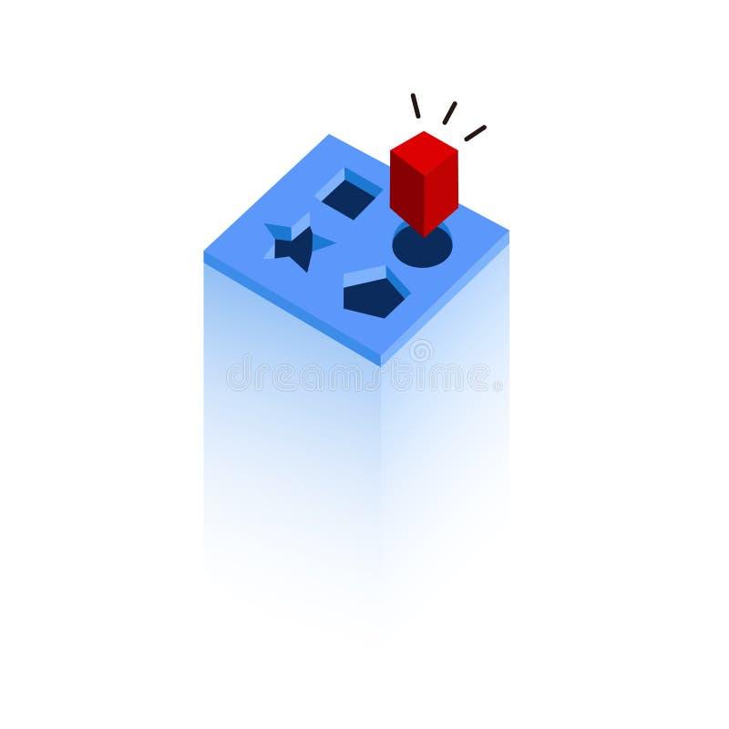 Vecteur de disparité illustration de vecteur