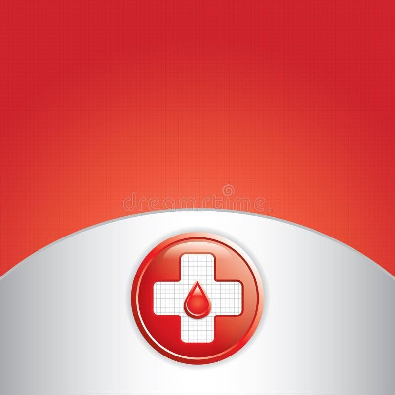Vecteur de donation de sang. illustration libre de droits