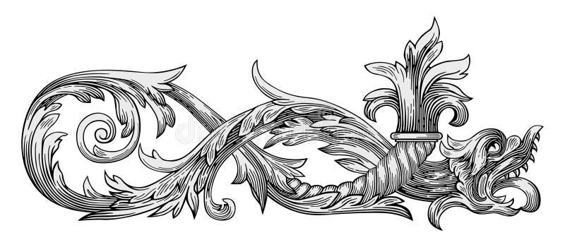 Vecteur de dragon illustration libre de droits