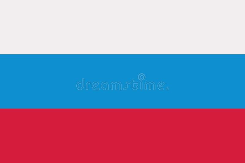 Vecteur de drapeau de la Slovénie illustration libre de droits