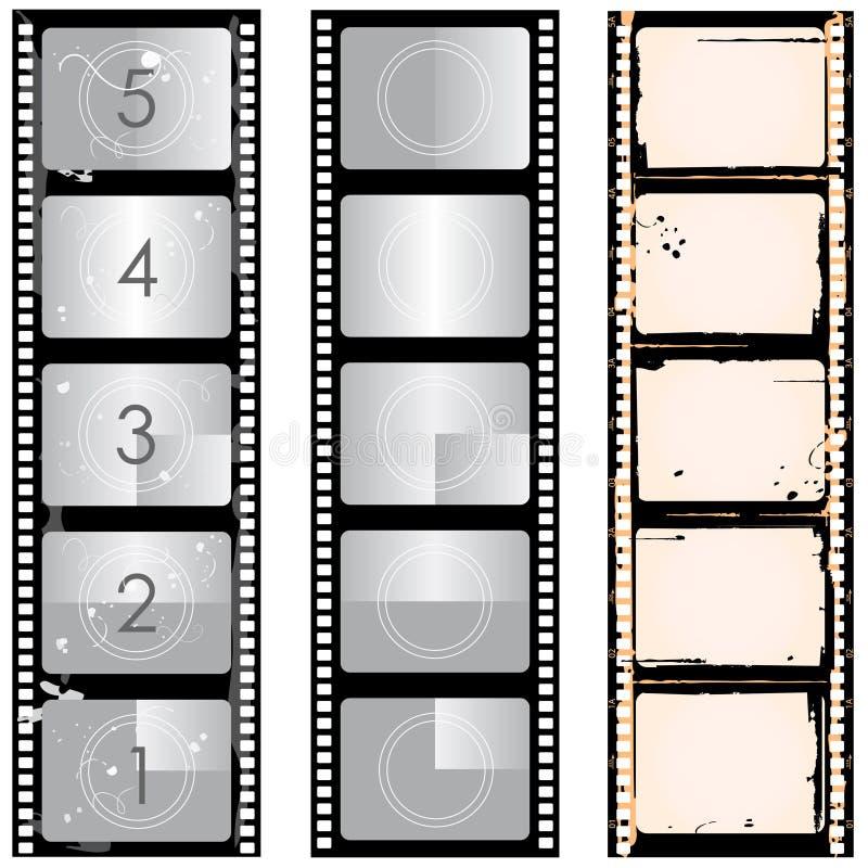 Vecteur de film illustration stock