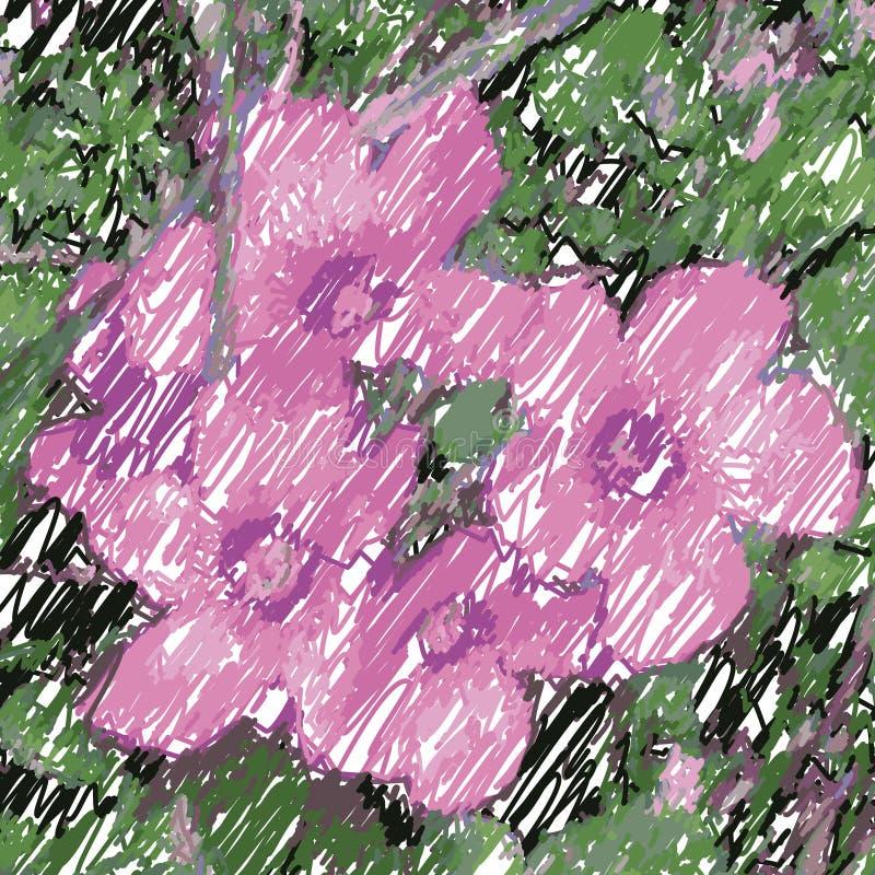 vecteur de fleurs illustration stock
