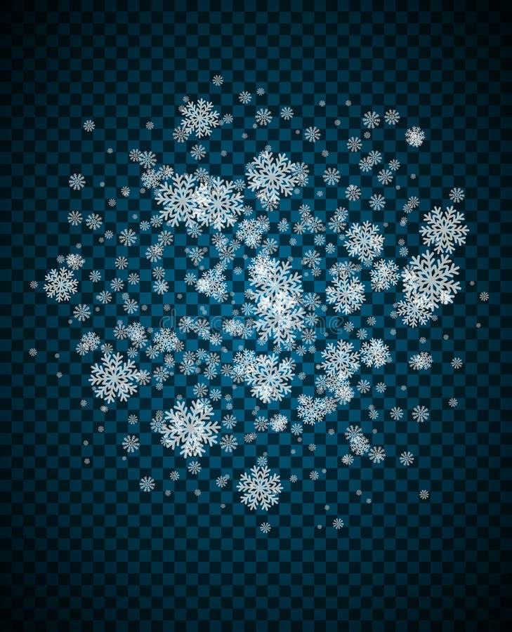 Vecteur de flocon de neige illustration libre de droits