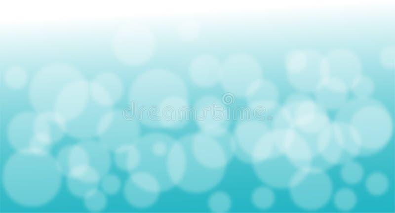 Vecteur de fond de dessous profondément frais d'abrégé sur l'eau illustration libre de droits