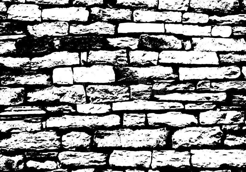 Vecteur de fond de texture de mur de briques illustration stock