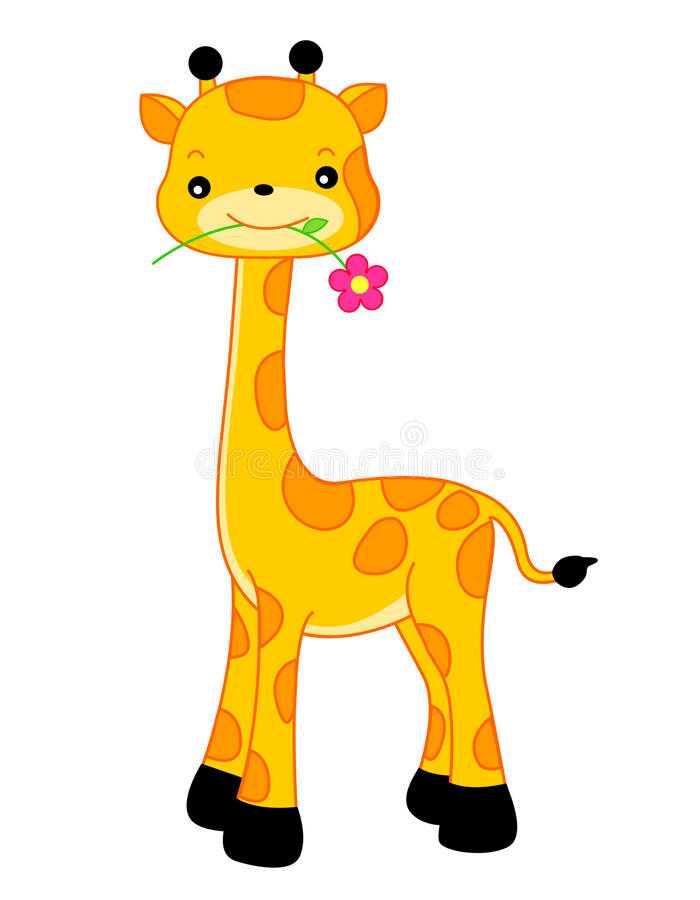 Vecteur de giraffe illustration de vecteur