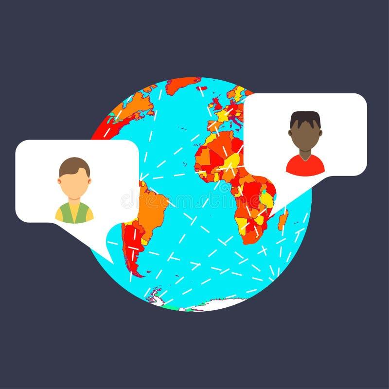 Vecteur de GPS de goupille d'icône de carte Voyage d'indicateur de marqueur de tourisme Symbole de route de point de recherche d' illustration stock