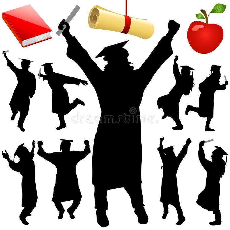 vecteur de graduation illustration stock