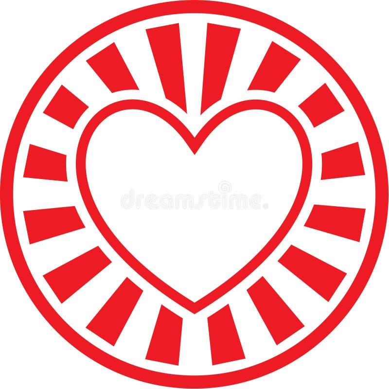 vecteur de graphisme de coeur illustration de vecteur