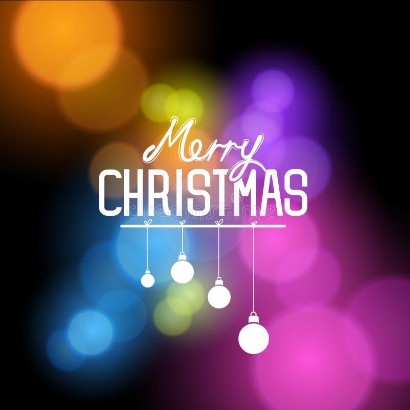 Vecteur de Joyeux Noël illustration libre de droits