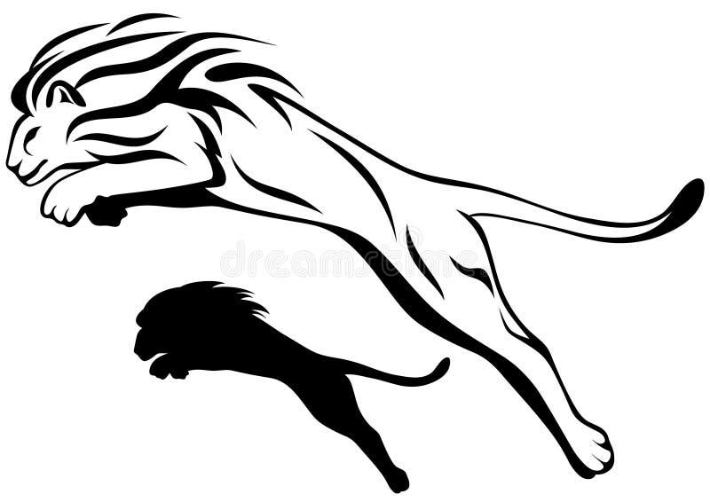 Vecteur de lion illustration de vecteur