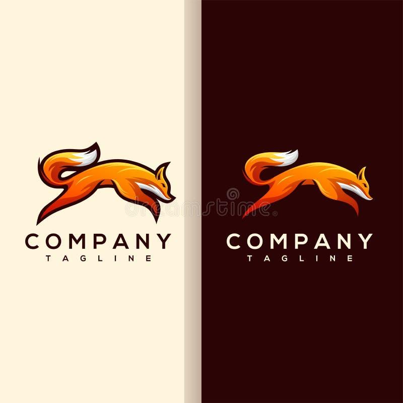 Vecteur de logo de Fox illustration libre de droits