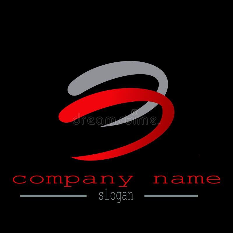 Vecteur de logo de la lettre b illustration de vecteur