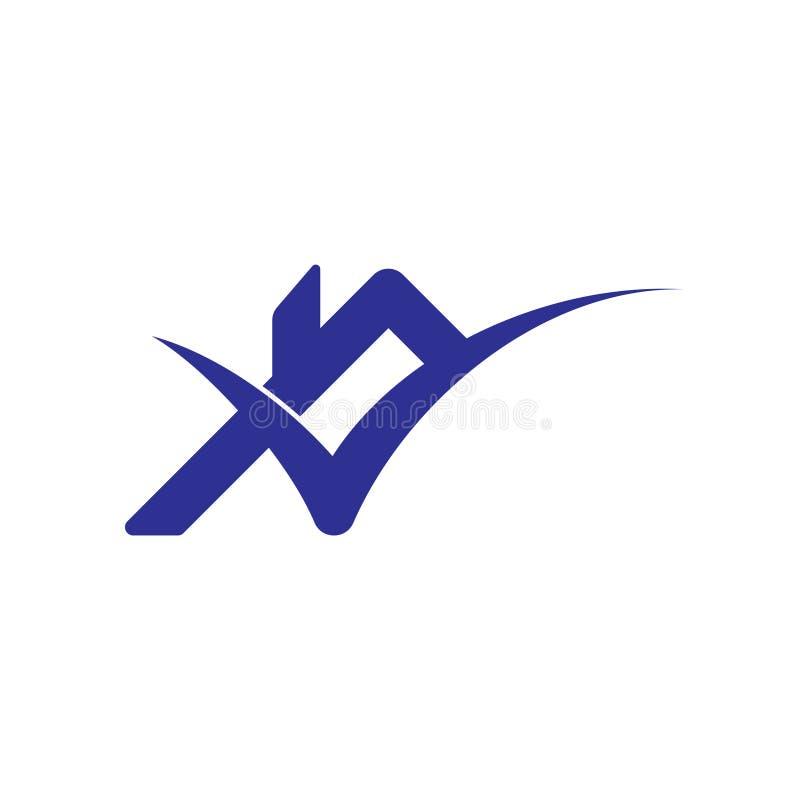 Vecteur de logo de maison de coche de toit illustration de vecteur