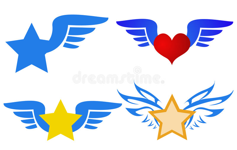 Vecteur de logos de vol illustration de vecteur