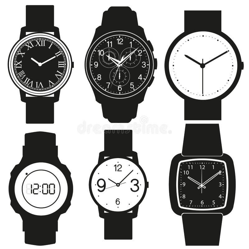 Vecteur de montre illustration stock