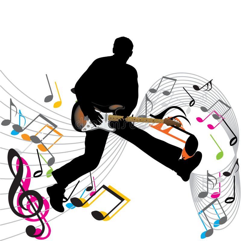 Vecteur de musique illustration stock