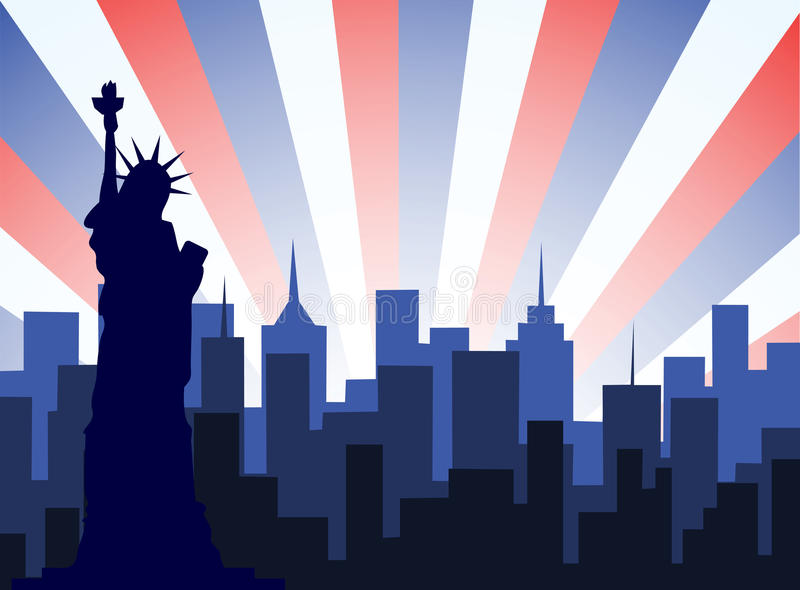 Vecteur de New York City illustration stock