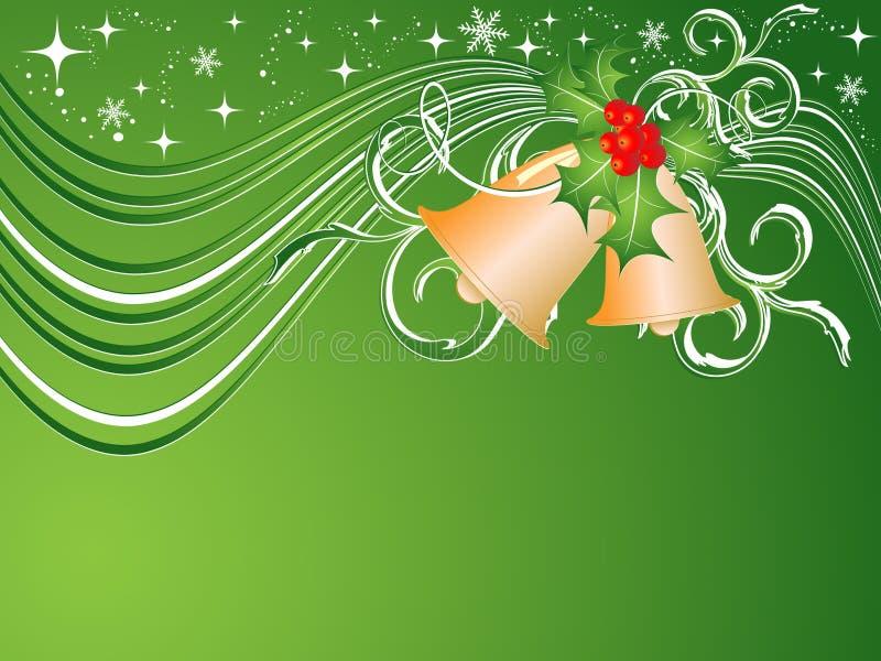 vecteur de Noël ondulé illustration libre de droits
