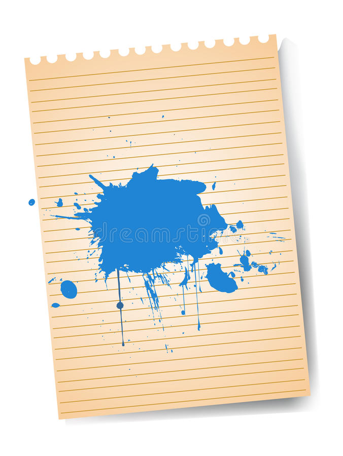 Papier de vecteur illustration libre de droits