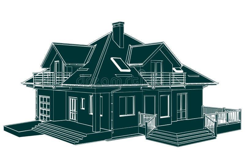 Download Vecteur De Perspective De Chambre De Famille Illustration de Vecteur - Illustration du schéma, perspective: 87702410