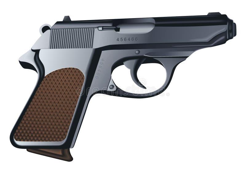 Vecteur de pistolet illustration stock