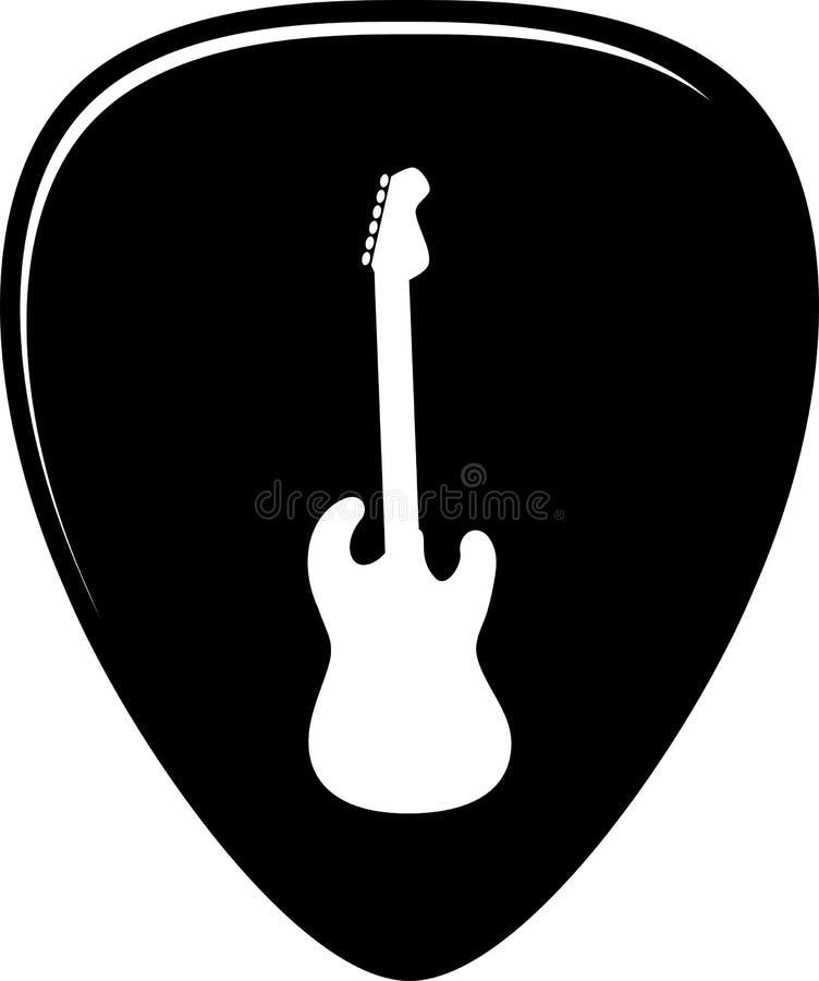 Vecteur de sélection de guitare illustration de vecteur
