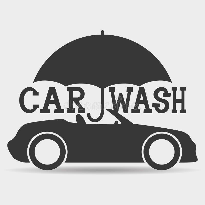 vecteur de signe machine propre de washington de v hicule lavage de voiture avec l 39 ponge et. Black Bedroom Furniture Sets. Home Design Ideas