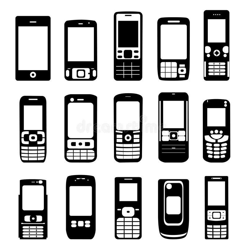 Vecteur de téléphone portable illustration libre de droits