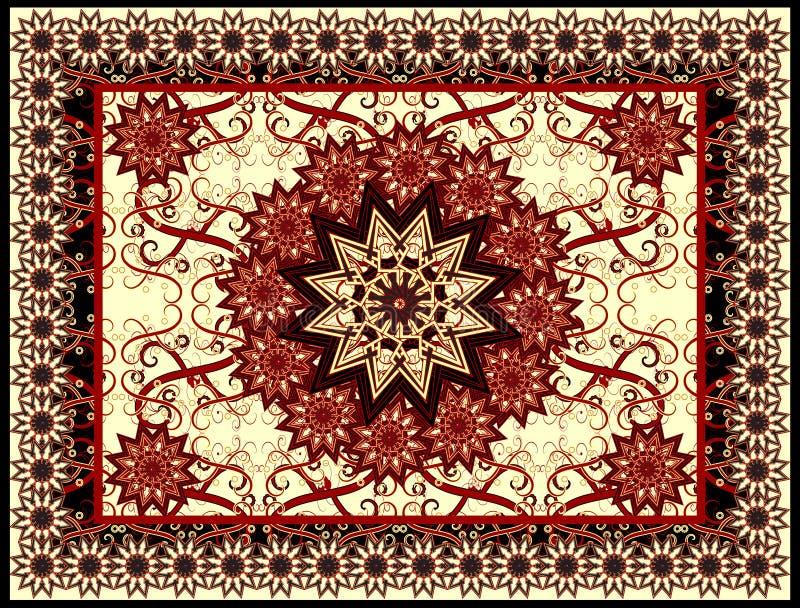 vecteur de tapis illustration de vecteur