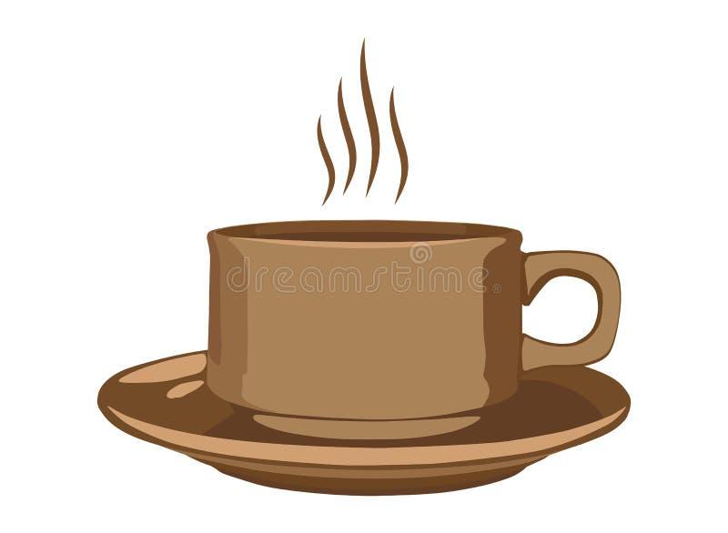 Vecteur de tasse de café illustration libre de droits