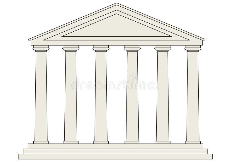 vecteur de temple illustration stock