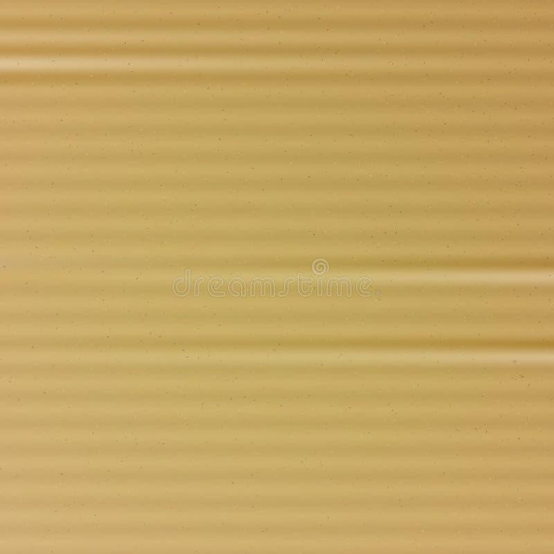 Vecteur de texture de carton Fond de papier matériel réaliste de bande dessinée Élément de conception graphique pour l'affiche, i illustration stock