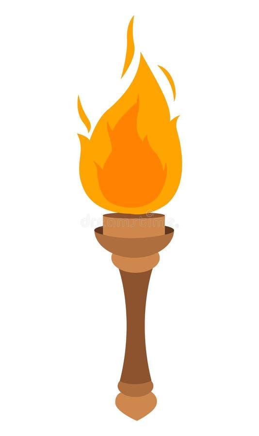 Vecteur de torche illustration de vecteur