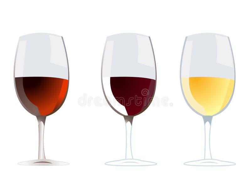 Vecteur de vin illustration libre de droits