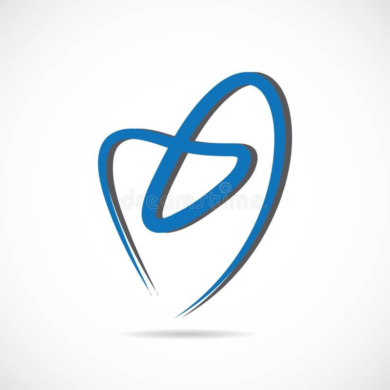 Vecteur dentaire de logo illustration libre de droits
