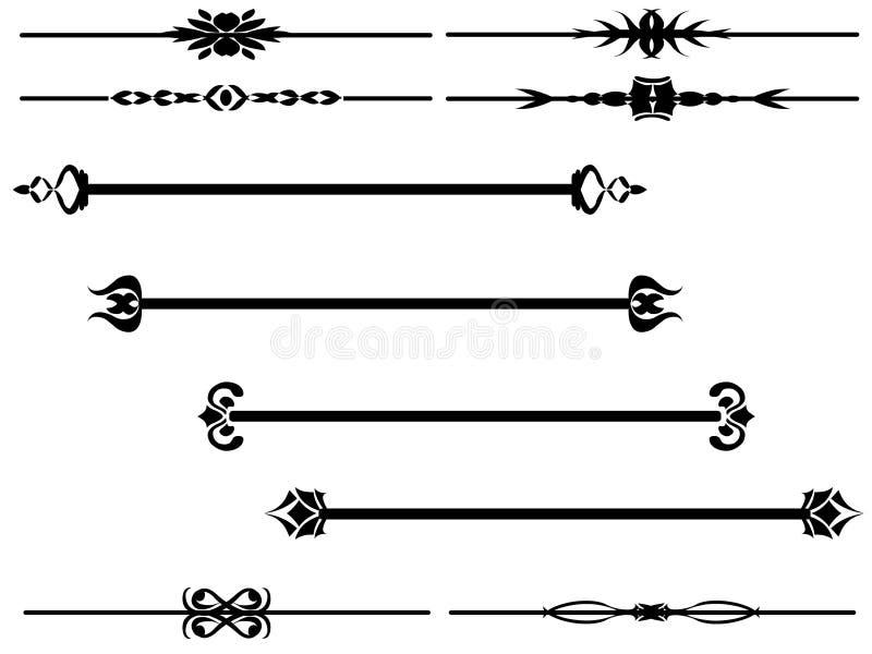 Vecteur - diviseur 1 illustration libre de droits
