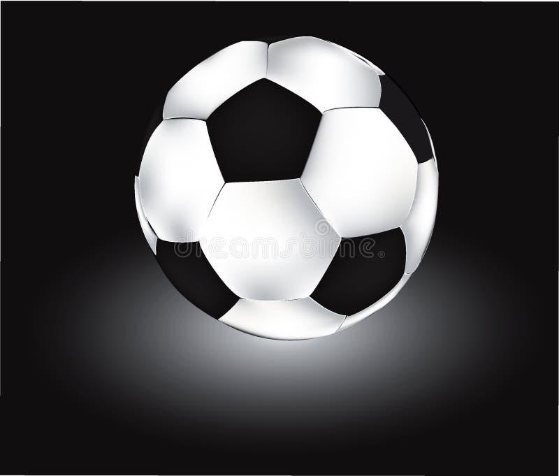vecteur du football de bille photographie stock libre de droits