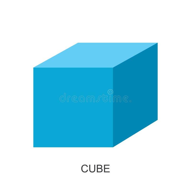 vecteur du forme-cube 3d illustration de vecteur