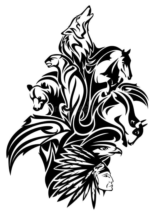 Vecteur du monde animal illustration de vecteur