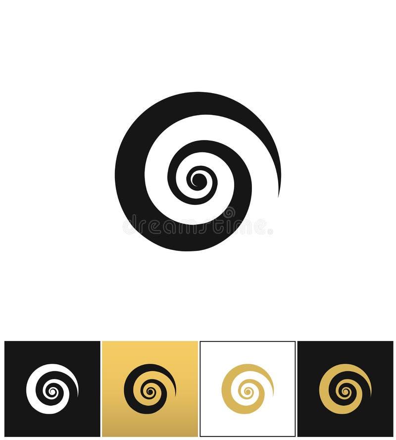 Vecteur en spirale d'icône illustration de vecteur