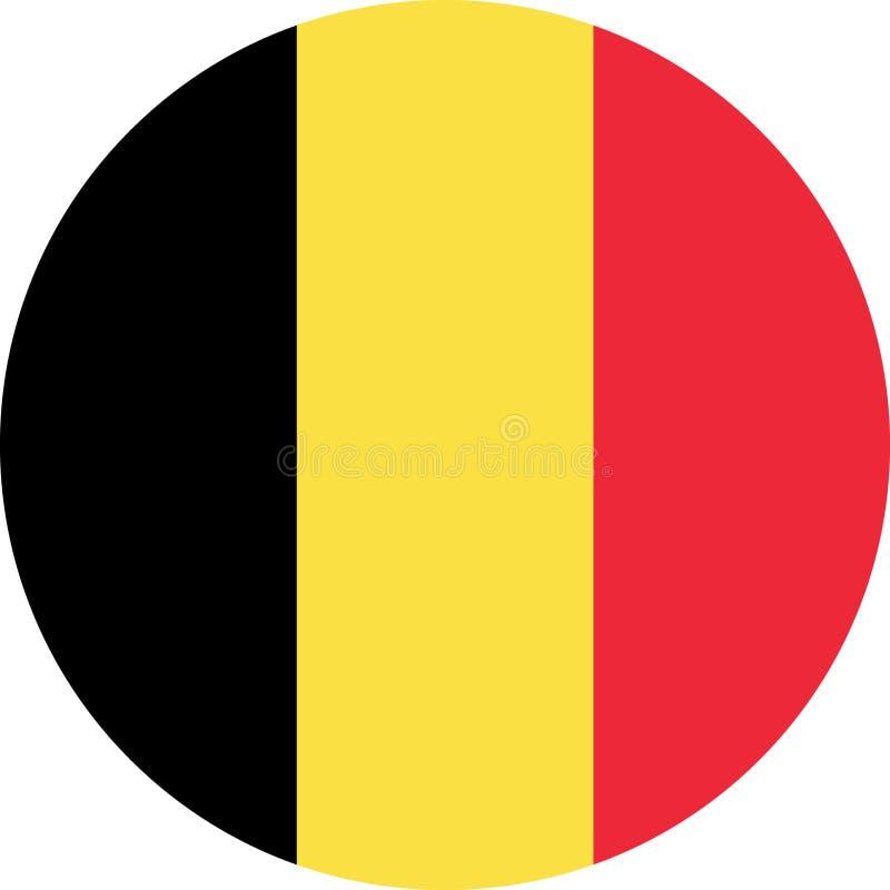 vecteur ENV d'illustration de drapeau de la Belgique illustration de vecteur