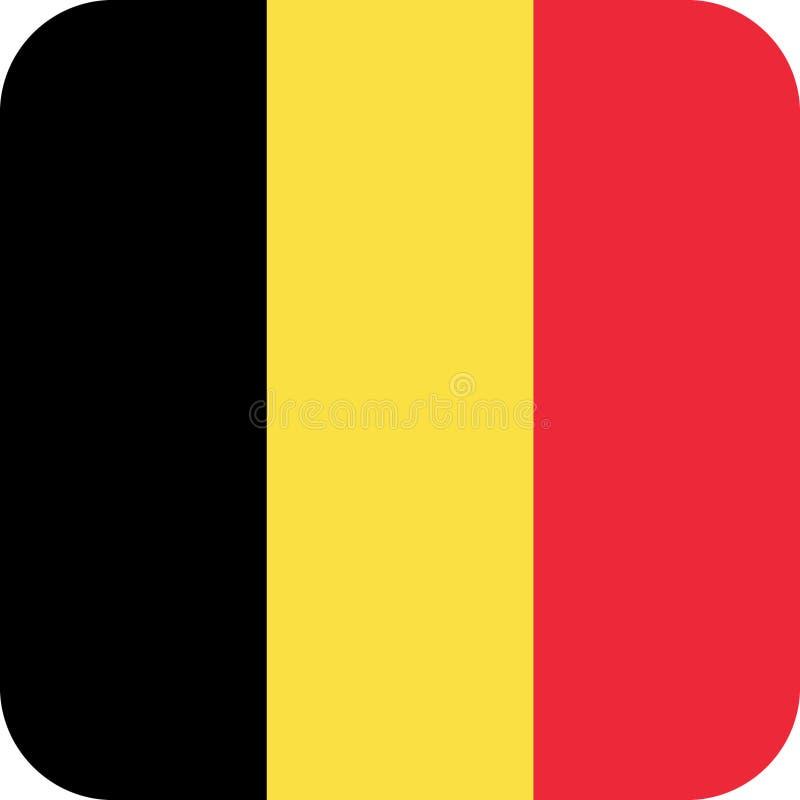 Vecteur ENV d'illustration de la Belgique de drapeau illustration de vecteur